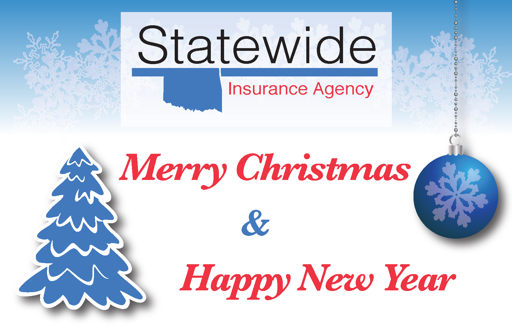 Merry Christmas From Statewide Insurance Agency