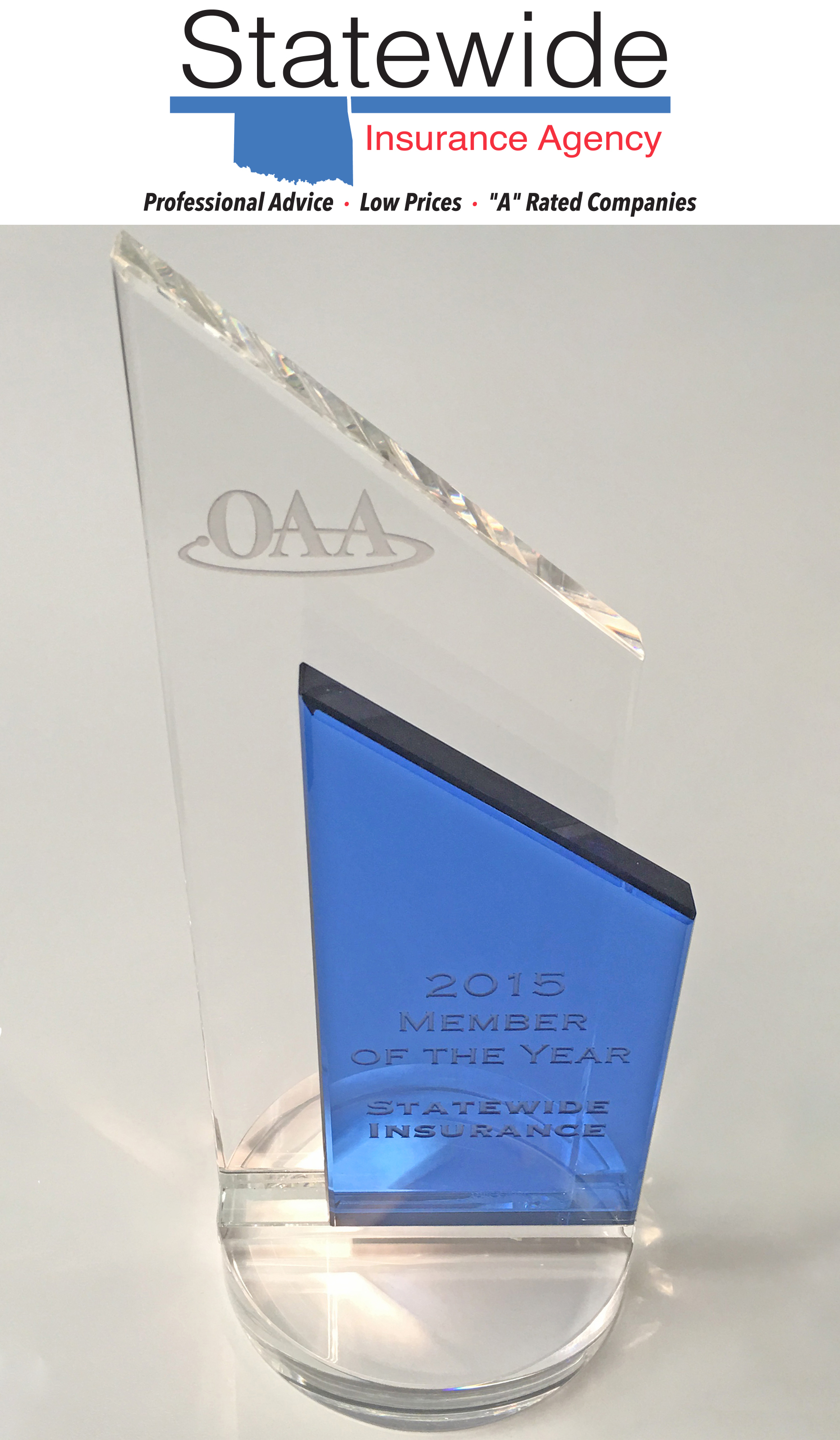 Oklahoma Agents Alliance [OAA] 2015 Member of the Year